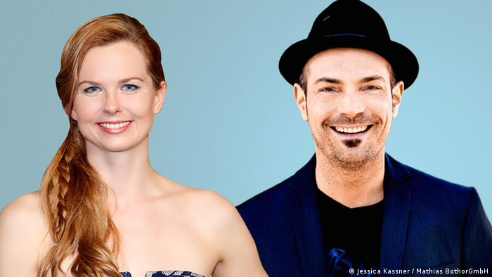 Photo for Teaser: DW campaign We are Germany Britta Steffen, Roger Cicero