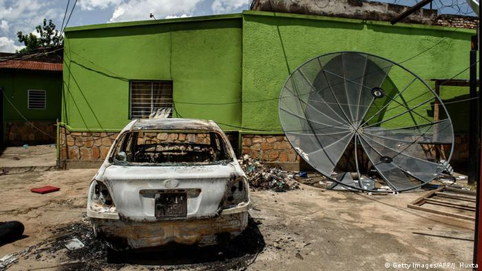 Anschlag auf Radiostation in Burundi Foto: Jennifer Huxta/AFP/Getty Images