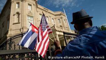 USA Washington Diplomatie kubanische Botschaft