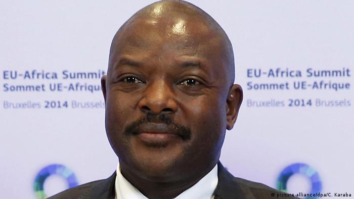 Burundi Präsident Pierre Nkurunziza (picture-alliance/dpa/C. Karaba)