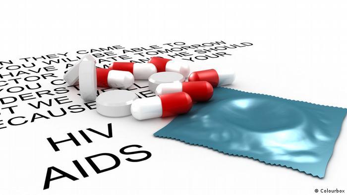 Медикаменты для ВИЧ-инфицированных и презерватив