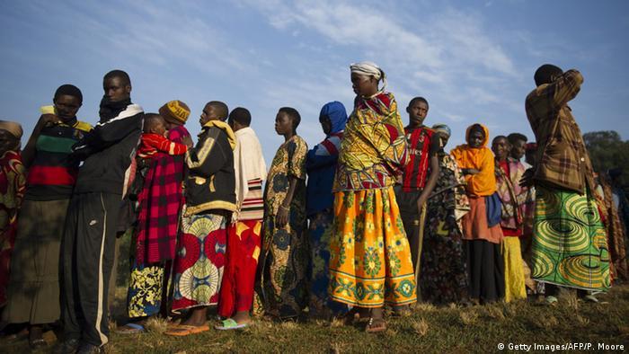Afrika Wahl in Burundi