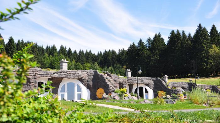 Zehn verrückte Hotels in Deutschland (Bildergalerie) Auenland Thüringer Wald