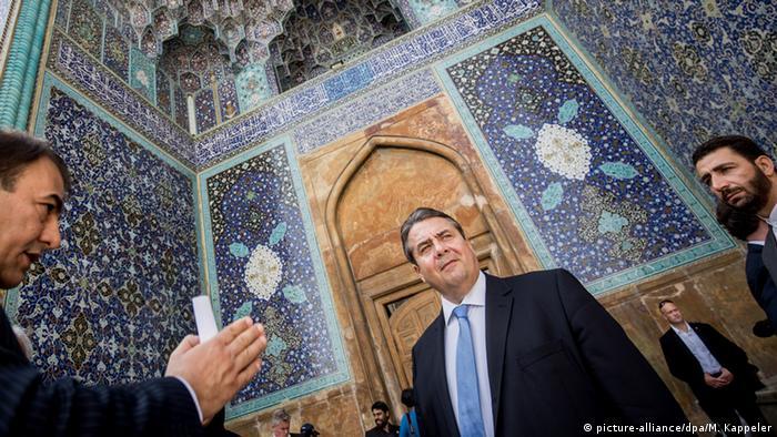Iran Deutschland Beziehungen Bundeswirtschaftsminister Sigmar Gabriel