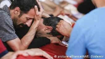 Turkey, Suruc bombing victims (Ensar Ozdemir / Anadolu Agency)