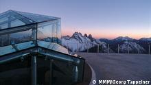 Eröffnung sechstes Messner Mountain Museum Corones