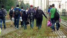 FOED Flüchtlinge; Copyright: DW***ACHTUNG: Das Bild darf ausschließlich im Kontext der Sendung Fokus Europa genutzt werden***