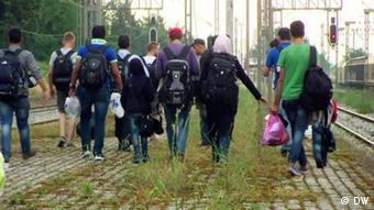 FOED Flüchtlinge