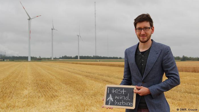 Climate Heroes: Benjamin Böhme, Windtest Grevenbroich. I test wind turbines