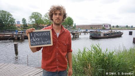 Climate Heroes: Guus van der Ven, Metabolic, Amsterdam. I pioneer clean technologies
