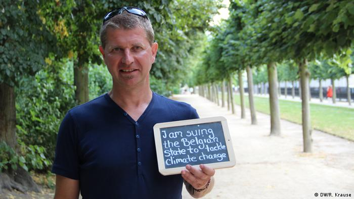 Climate Heroes: Ignace Schop, Brussels. I'm suing the Belgian state to tackle climate change