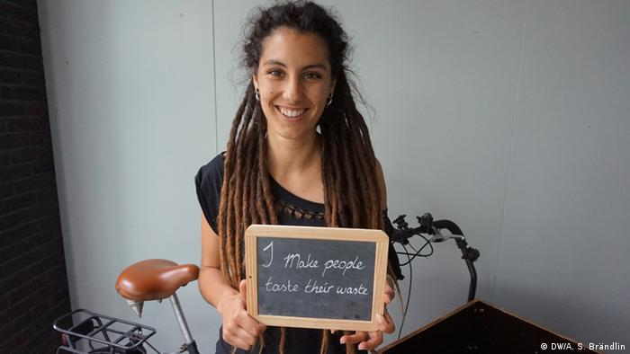 Climate Heroes: Luana Carretto. I make people taste their waste