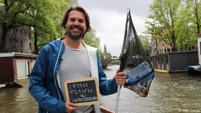 Climate Heroes: Marius Smit, Amsterdam. I fish plastic in Amsterdam