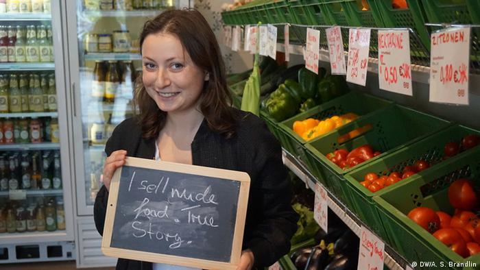 Climate Heroes: Milena Glimbovski, Original Unverpackt, Berlin. I sell nude food