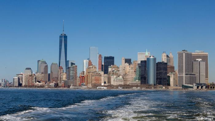 Die New Yorker Skyline mit dem One World Trade Center
