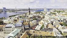 Lettland Riga Stadtansicht Altstadt