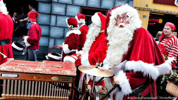 Dänemark, Santa Claus World Congress (picture-alliance/dpa/C. Christoffersen)