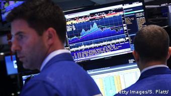 На бирже NYSE