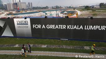 Malaysia 1MDB banner
