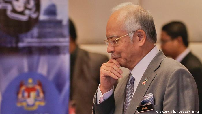 Malaysia Ministerpräsident Najib Razak (picture-alliance/dpa/F. Ismail)