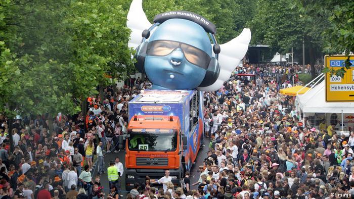 Loveparade 2008 in Dortmund (Foto: imago/epd)