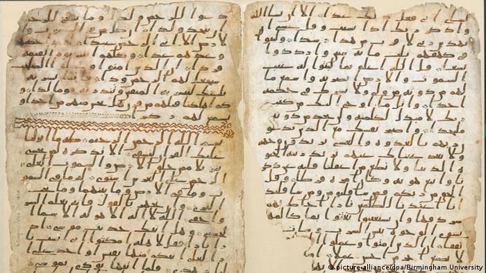 Universität Birmingham - Fund alter Koran-Fragmente