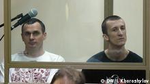 Russland Ukraine Aktivisten Oleh Senzow & Oleksander Koltschenko
