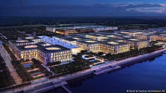 Entwurf für Neubau Multifunktionales Medizinisches Zentrum St. Petersburg