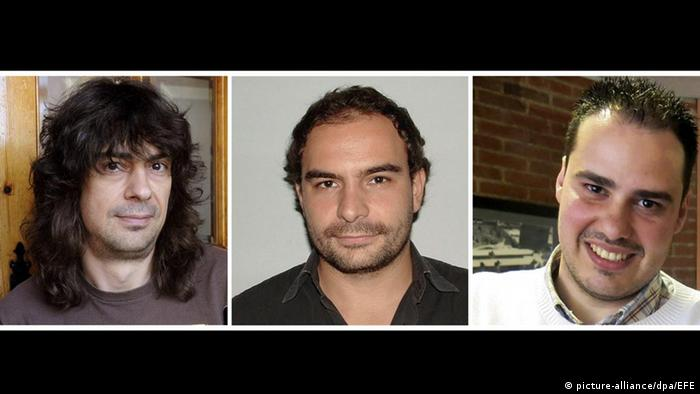 Spanish kidnapped journalists