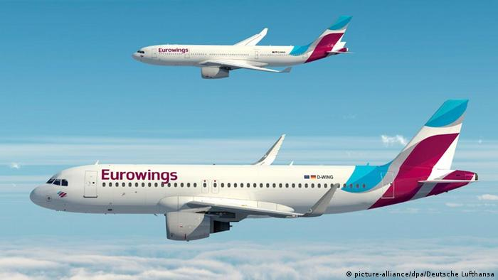 Eurowings aircraft