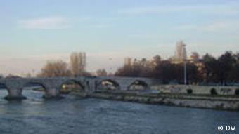 Skopje,Kamen Most.
