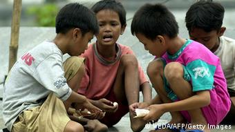 Straßenkinder in Indonesien (Foto: GettyImages)