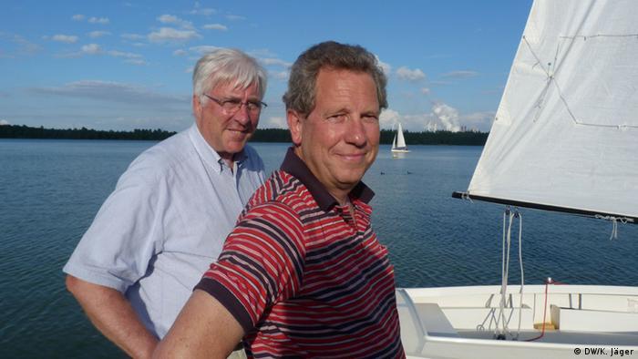 Volker vom Lehn und Josef Rössler (Foto: Karin Jäger).