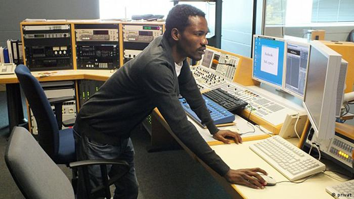 O jornalista Nelson Sul D'Angola, correspondente da DW-África em Angola