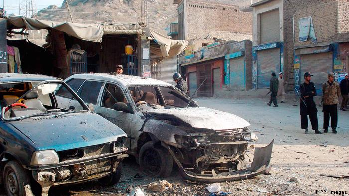 Bomb attack in nordwestern Pakistan