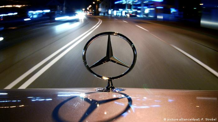Symbolbild Mercedes Daimler (picture-alliance/dpa/J.-P. Strobel)