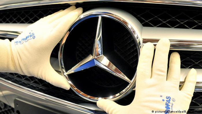 Symbolbild Mercedes Daimler (picture-alliance/dpa/B. Weißbrod)