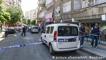 Türkei Diyarbakir Angriff auf Polizisten