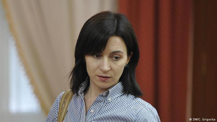 Moldau Maia Sandu Bildungsministerin