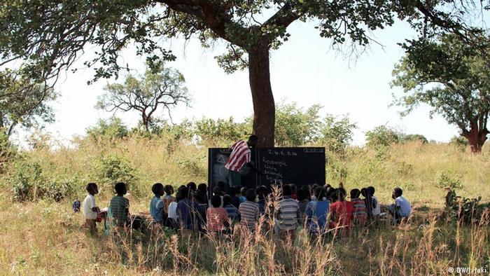 Radioschule in Sambia (Foto: Julia Jaki/DW)