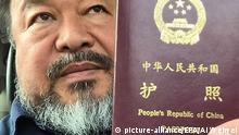 Ai Weiwei Reisepass