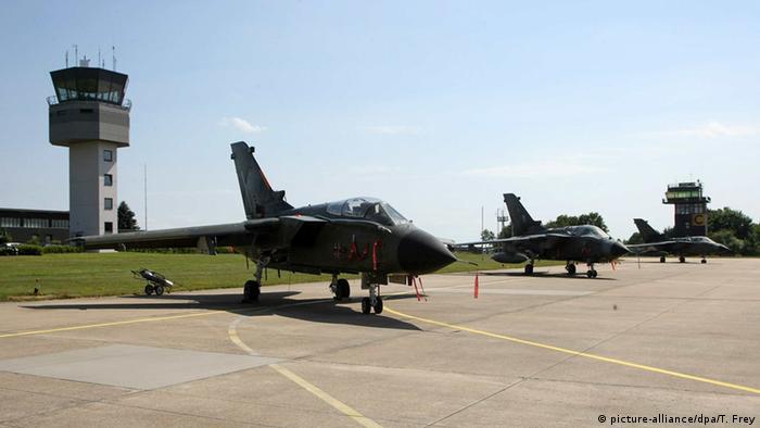 Luftwaffenstützpunkt Büchel Tornado Kampfjets