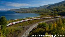 Baikalsee Transsibirische Eisenbahn