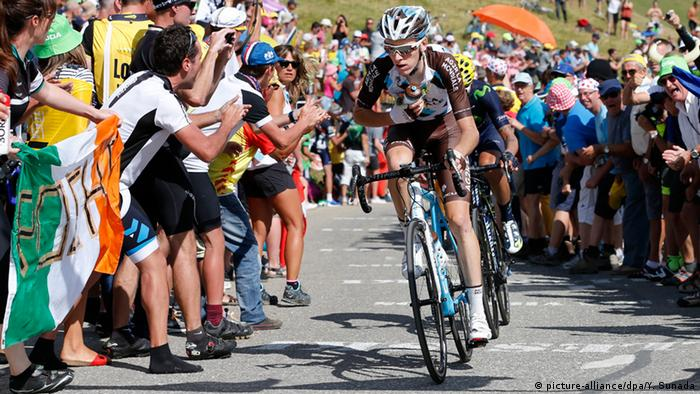 Tour de France 2015 18. Etappe - Romain Bardet (picture-alliance/dpa/Y. Sunada)