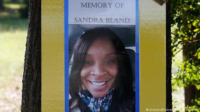 USA Sandra Bland Todesfall in Polizeizelle - Trauer