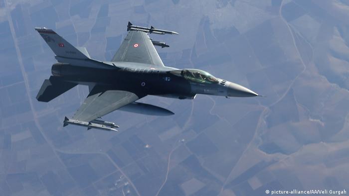 Türkei Luftwaffe Kampfflugzeug F-16