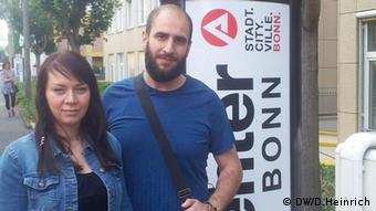 Alaa Houd Jobcenter Flüchtling Syrien Deutschland Flüchtlingshilfe Claudia Dehn