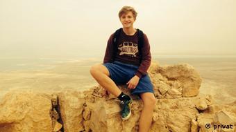 Der Junge in Massada