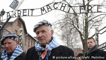 Polen Ausschwitz Gefangene 70 Jahre Befreiung