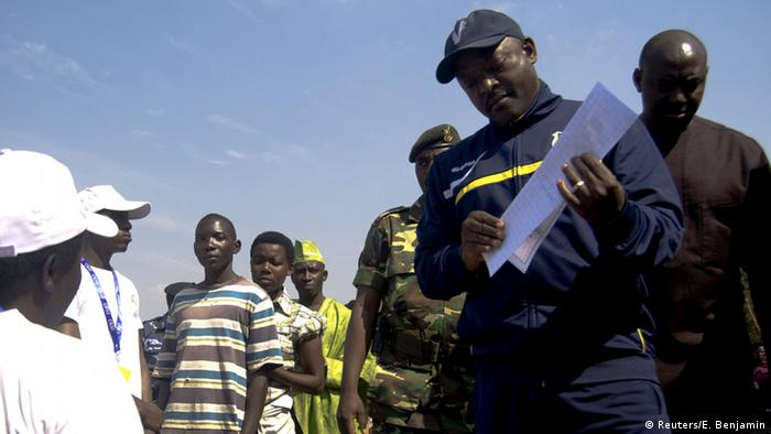 Burundi President Nkurunziza votes